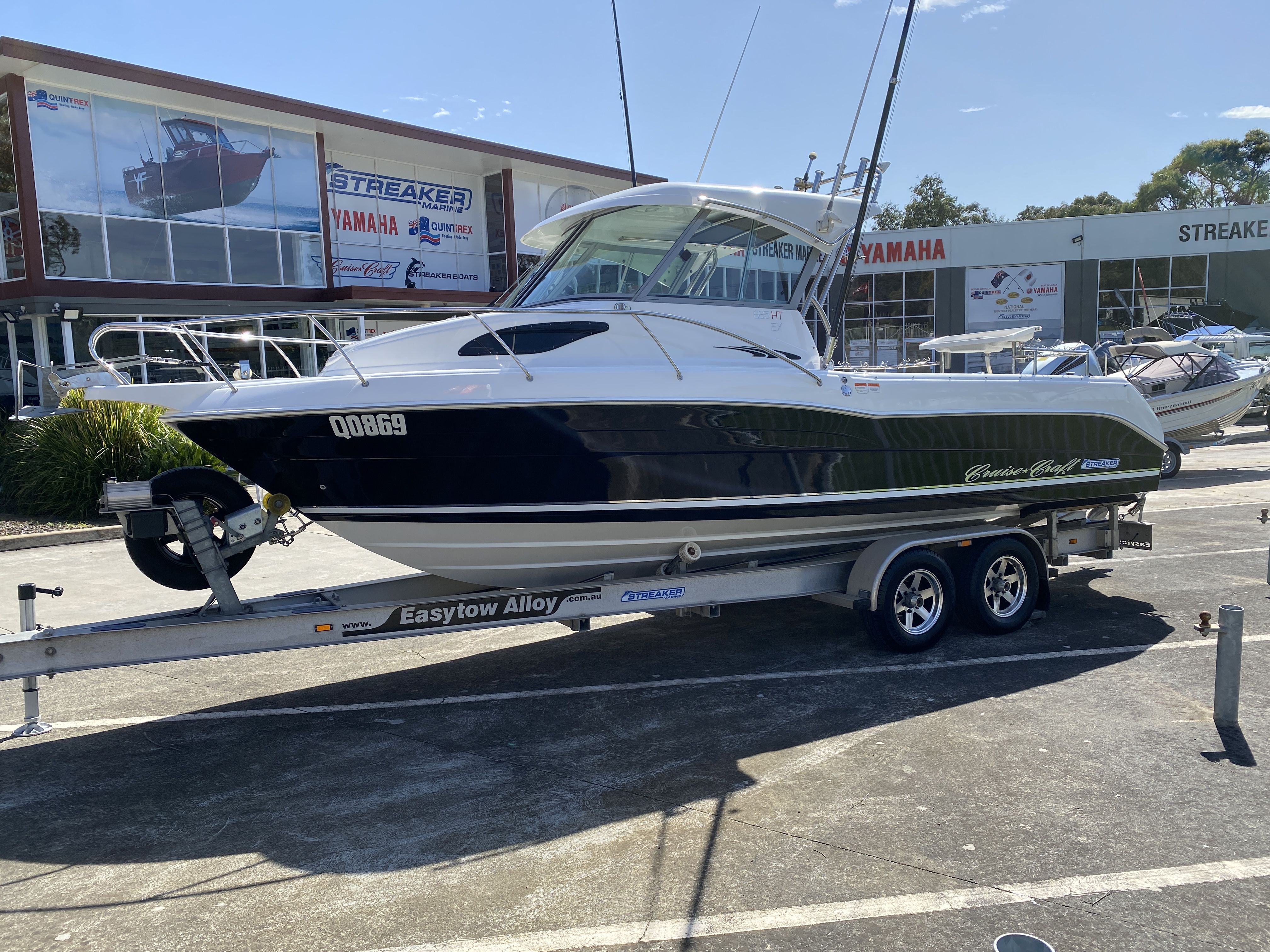 Second hand boats for sale at Streaker Marine