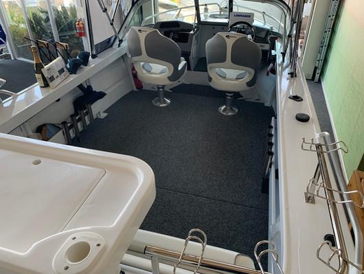 Quintrex 530 Fishabout at Streaker Marine