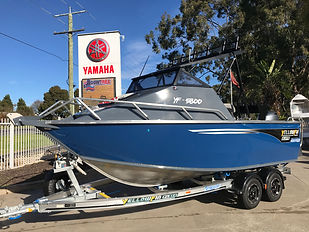 Yellowfin 5800 Folding hard Top