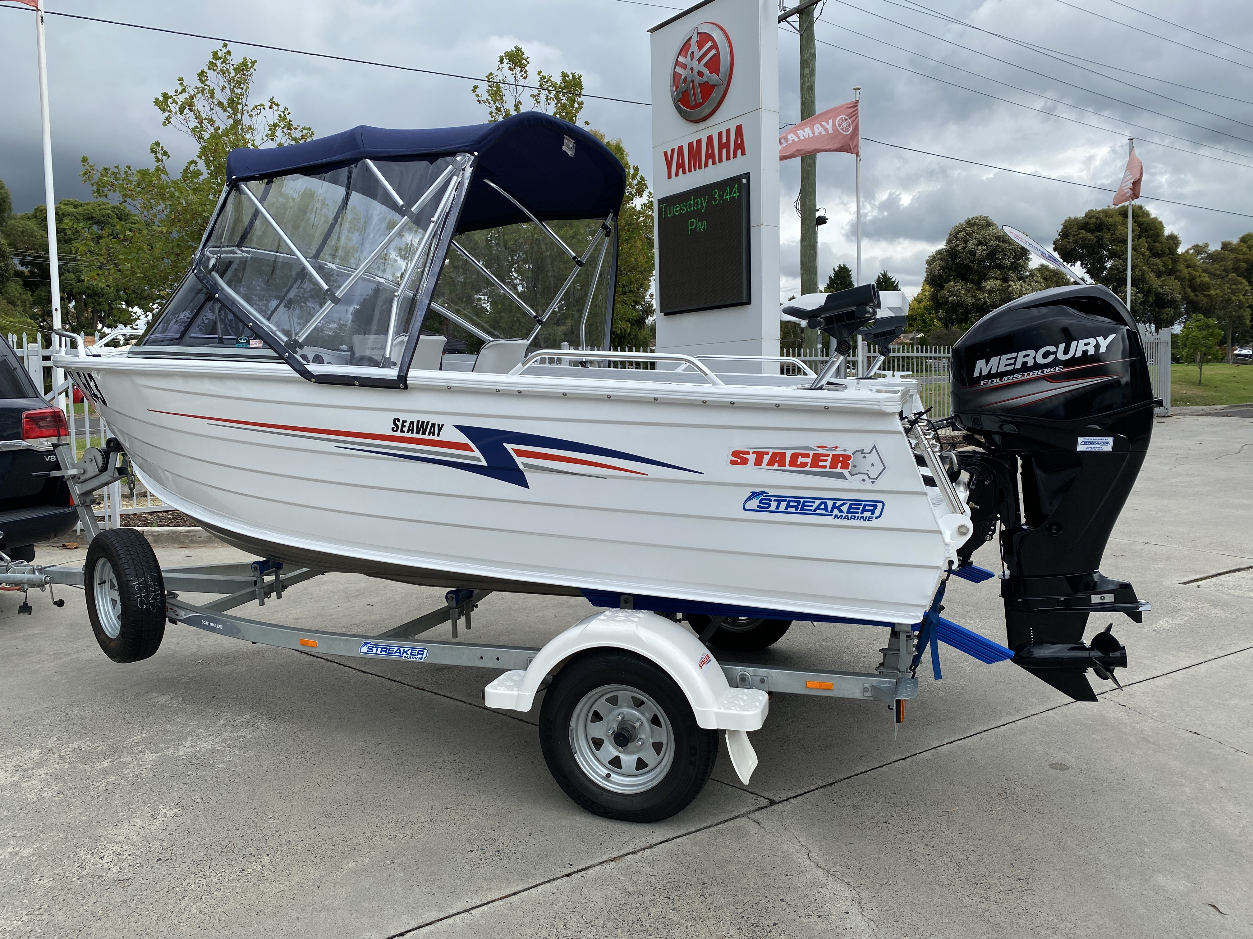Second hand Stacer at Streaker Marine
