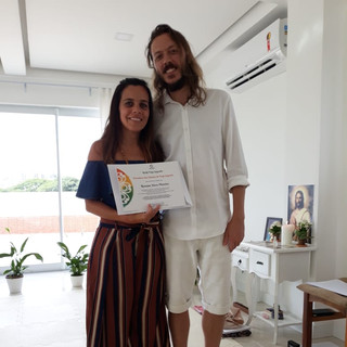 Rosi, a prolific Reiki Teacher from Brazil, becomes a Flame Bearer.