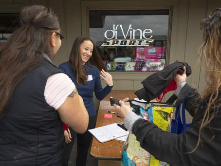 "Corazón CEO Spearheads ""free store"" for Kincade Fire Survivors"