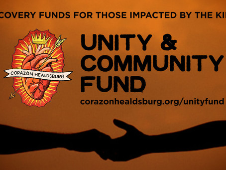 Corazón Establishes Kincade Fire Fund
