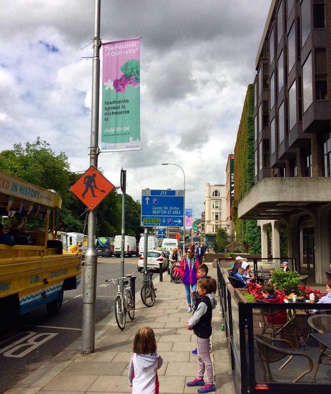 Curious Dublin Banners