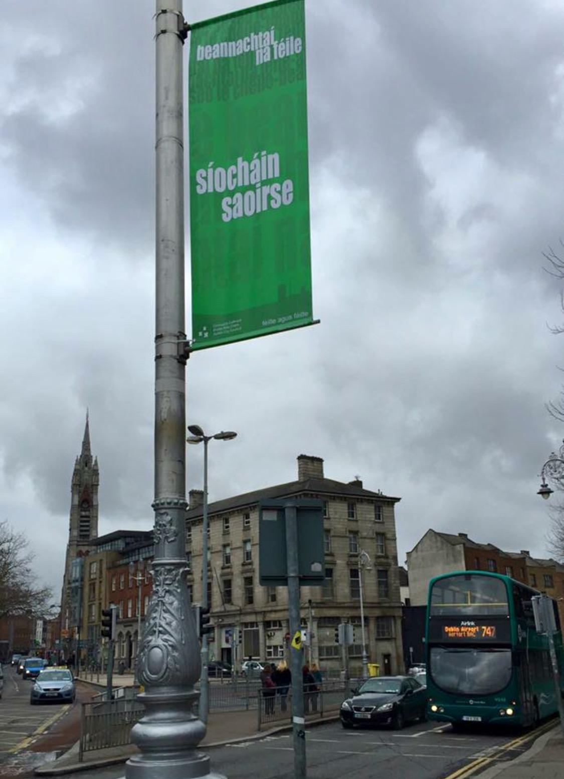 Seachtain na Gaeilge Street Banners