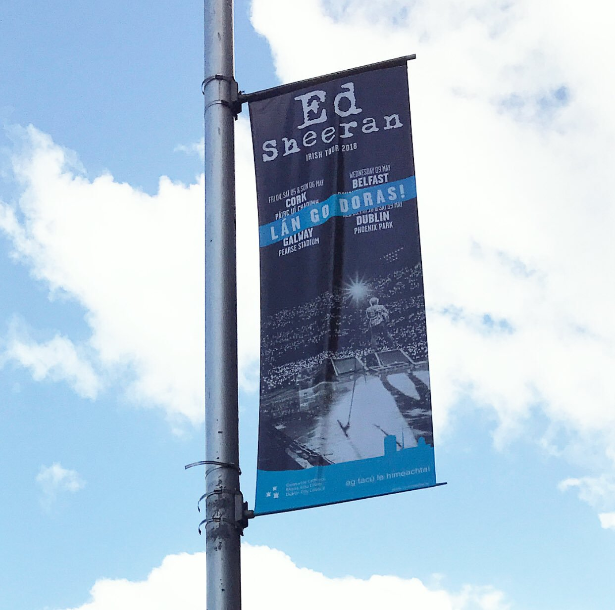 CCivicmedia lamppost banners