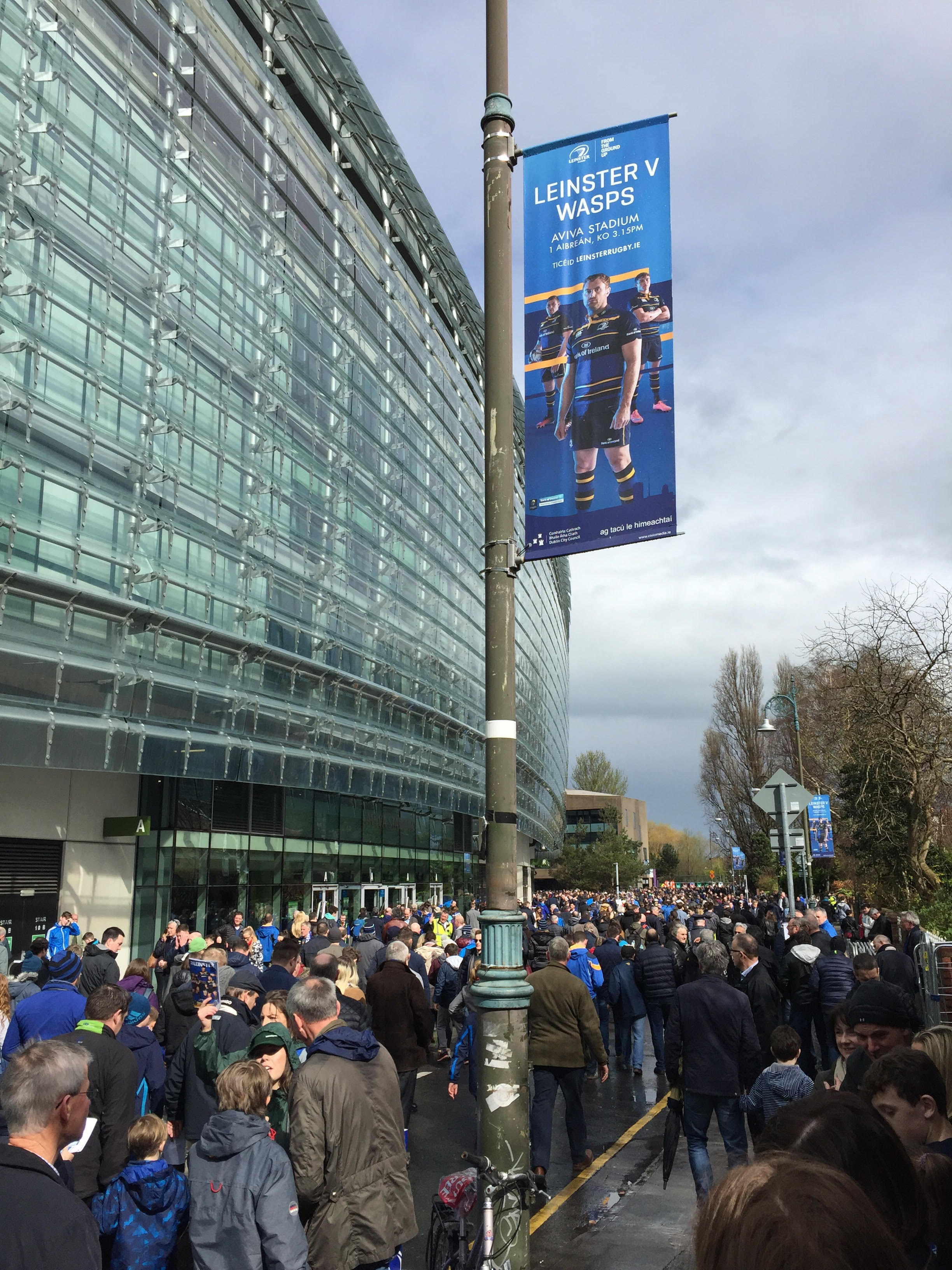 Leinster Rugby Banners