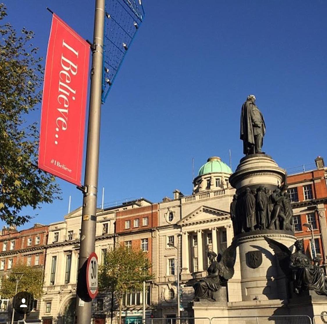 Dublin Christmas Banners