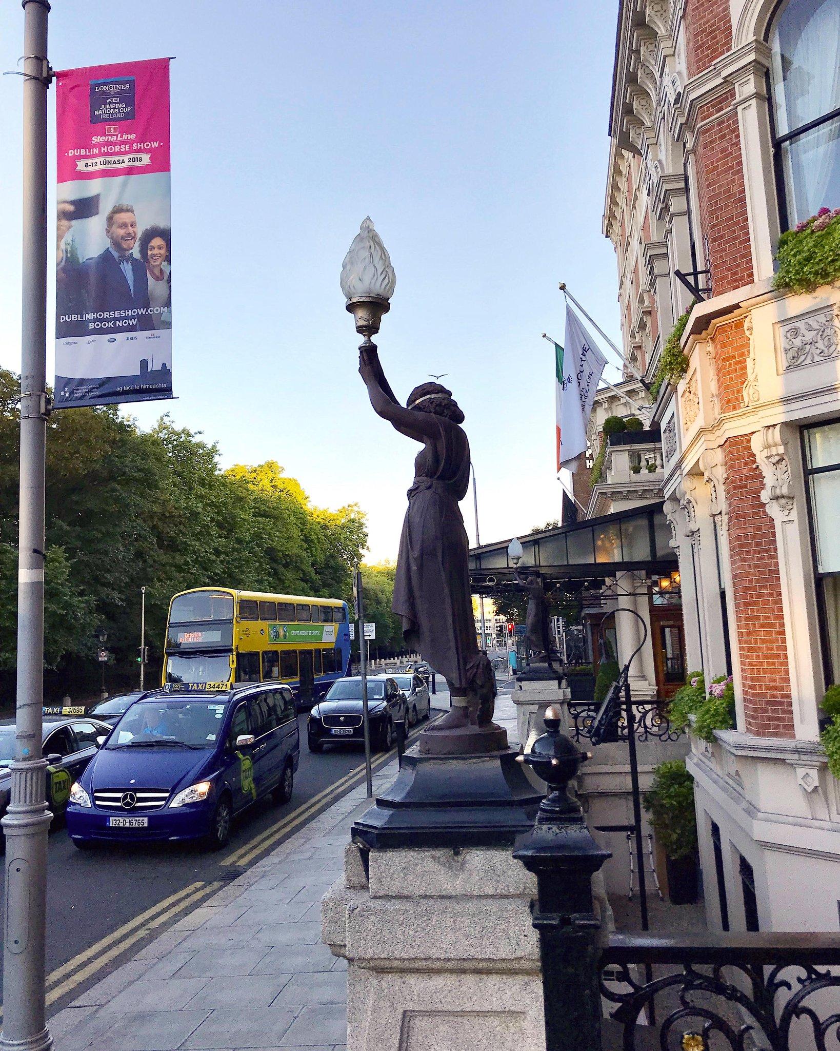 Dublin lamppost banners - Horse Show