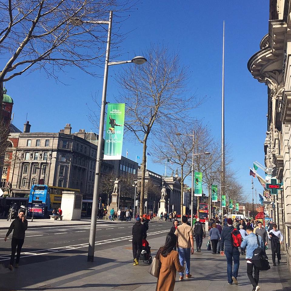 St Patrick's Festival Banners 2017