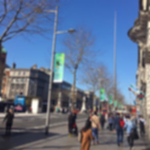 Dublin St Patrick's Day Lamppost Banners Civicmedia