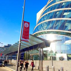 Convention Centre Dublin Flags