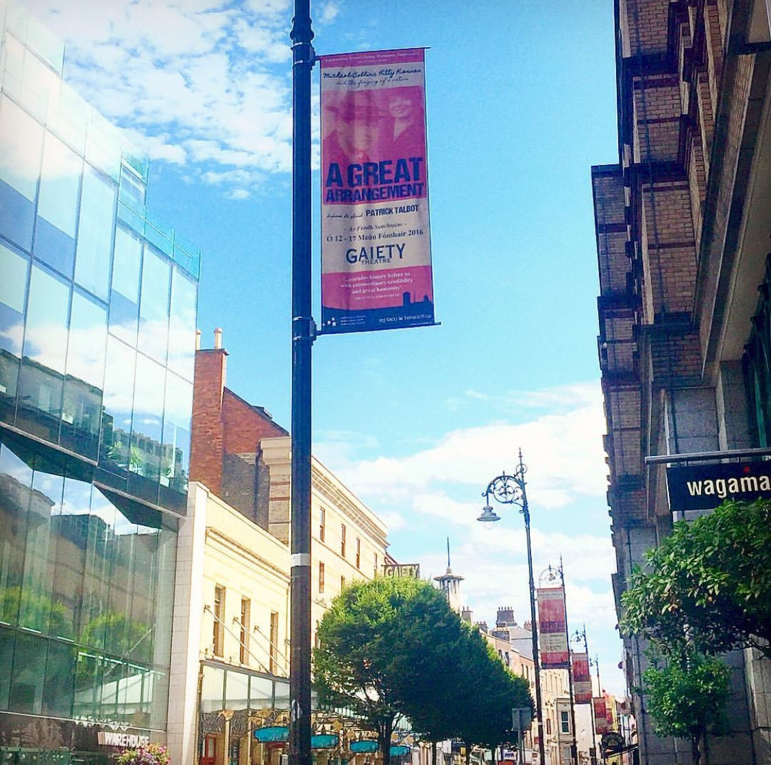 Gaiety Theatre Lamppost Banners