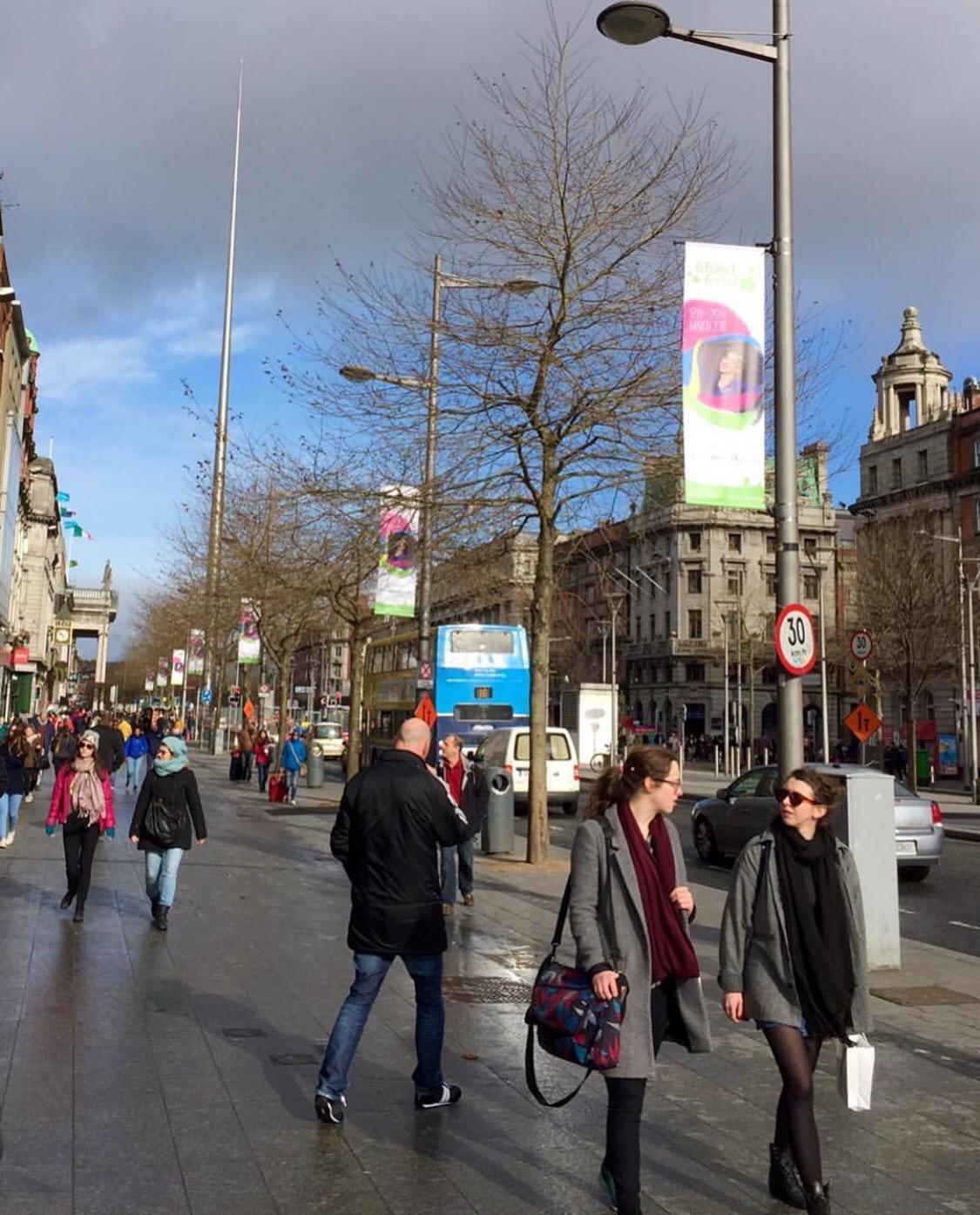 Dublin Streetlight Banners