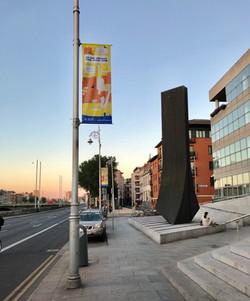 Civicmedia lamppost banners