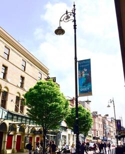 Riverdance Dublin Lamppost Banners