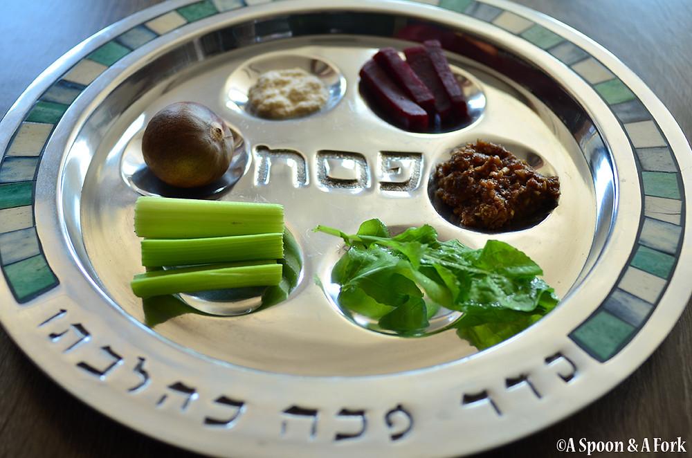 Allergy-Friendly Passover Seder Plate