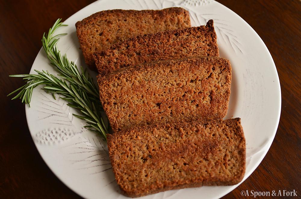 Hearty Homemade Garlic Thyme Bread with Rosemary