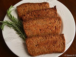 Hearty Garlic Thyme Bread