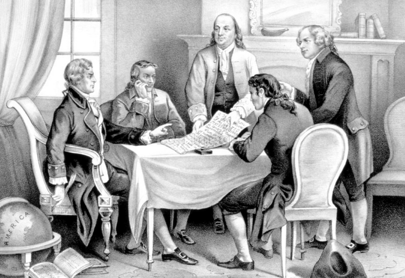 Committee of Five to Writing the Declaration