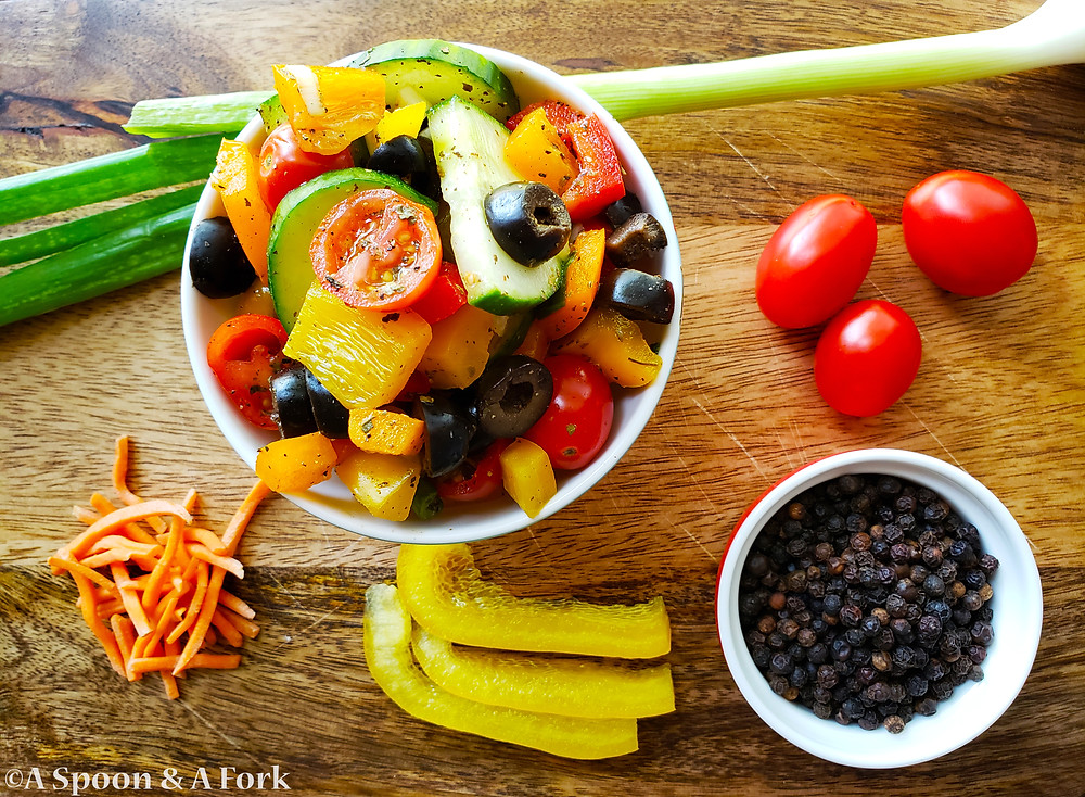 Joy's Rainbow Salad