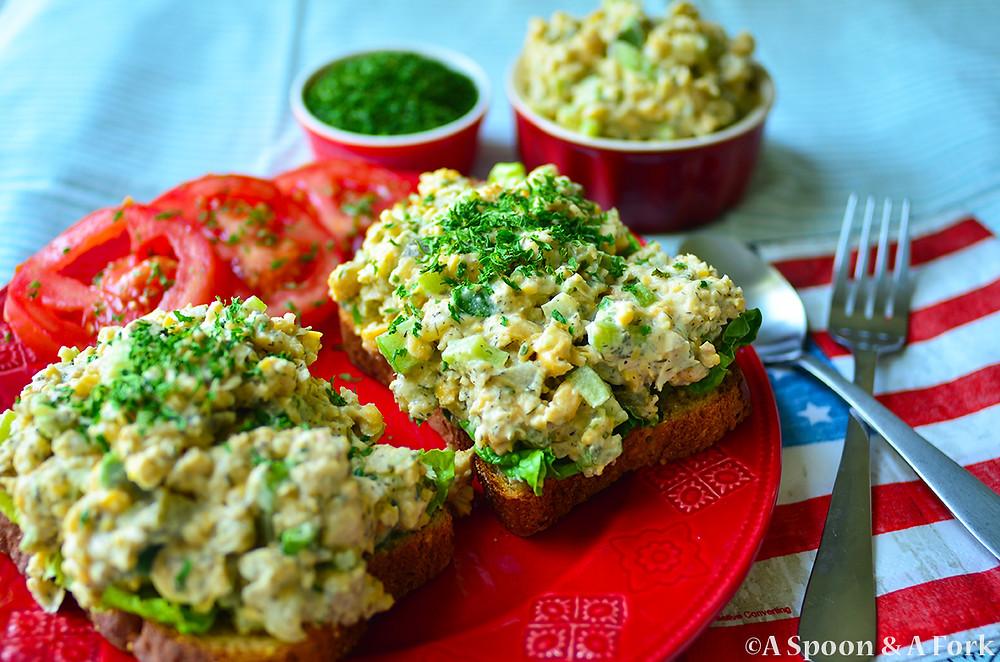 Deli-Style Chickpea Salad Sandwiches