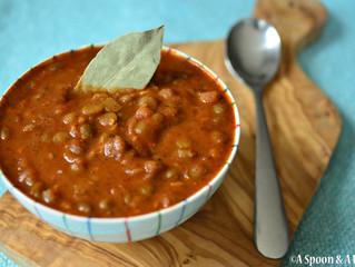 Chunky Split Pea Soup - Allergy-Friendly, Vegan, Gluten-Free, Nut-Free, Soy-Free