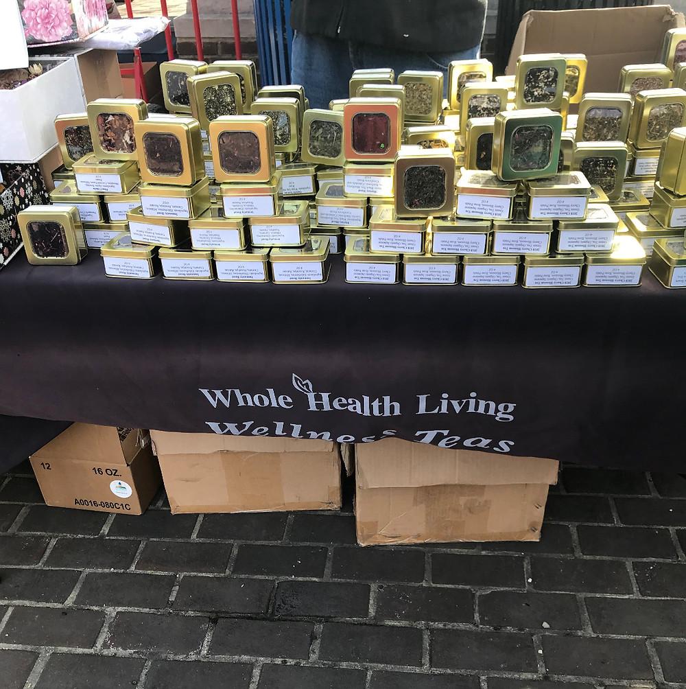 Whole Health Living Wellness Teas
