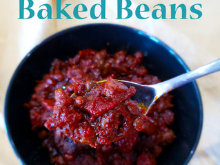 Southern-Style Maple BBQ Baked Beans - Allergy-Friendly, Gluten-Free, Soy Free, Vegan