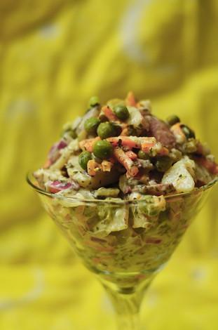 Creamy Herbed Potato Salad - Allergy-Friendly, Vegan, Gluten-Free, Nut Free, Soy Free