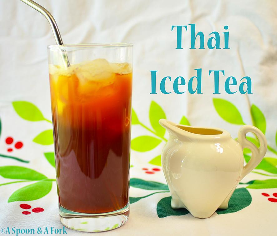 Thai Spiced Iced Tea For Coffee Lovers