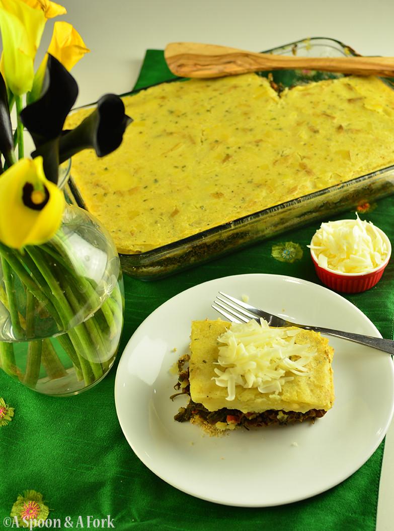 Lentil Mushroom Shepherdess Pie Full View