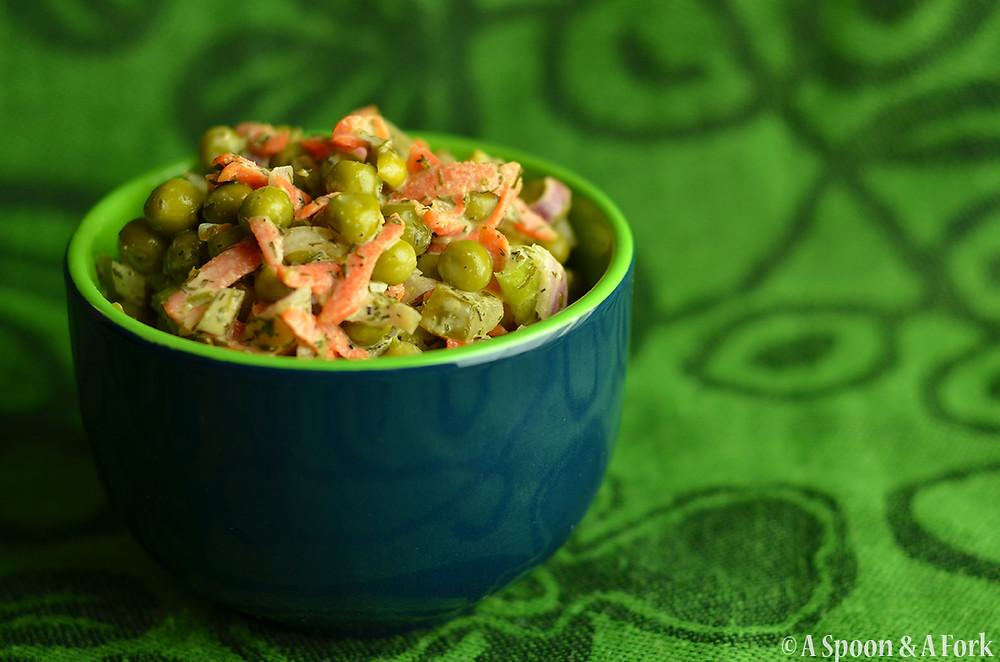 Dill Pea Salad