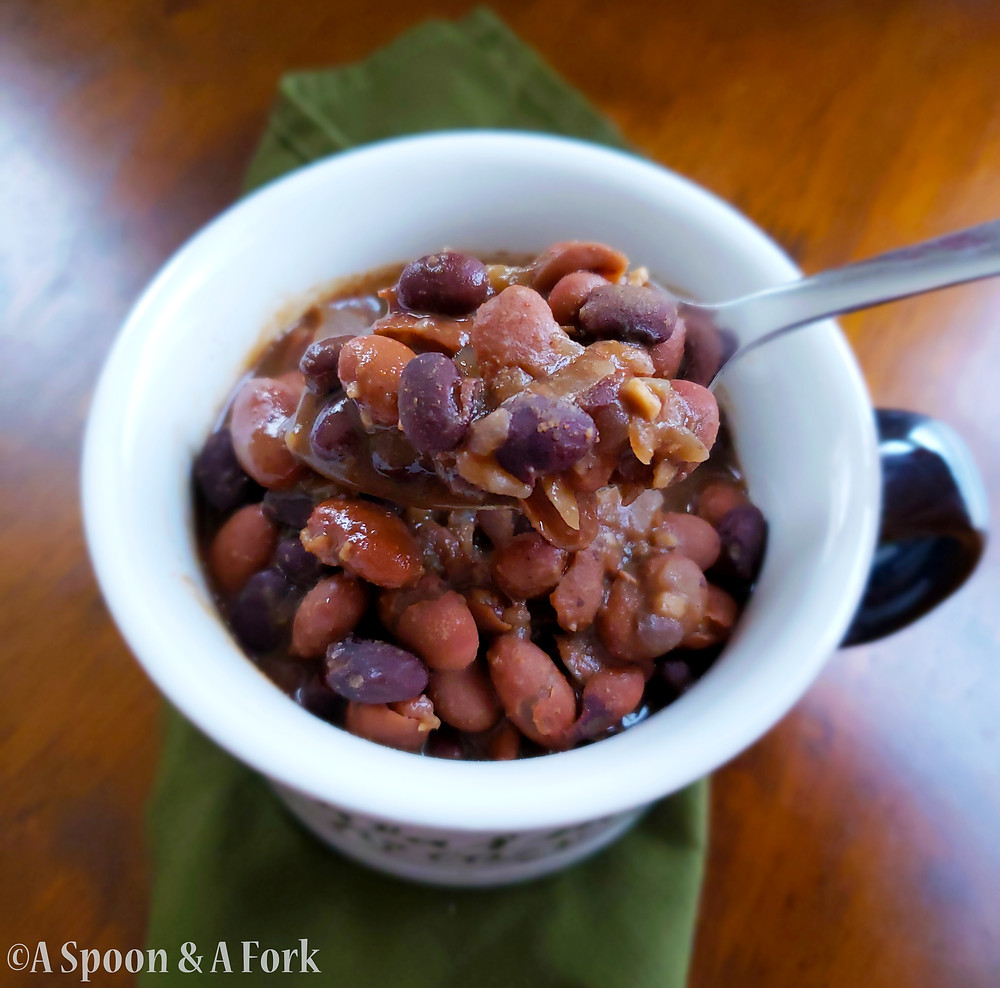 Slow Cooked Mexican-Style Beans