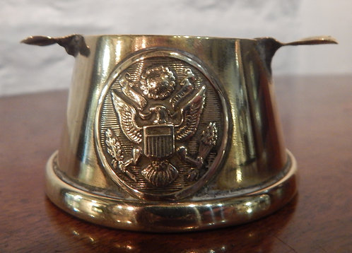 WWI Brass Trench Art Ashtray (CB/414)
