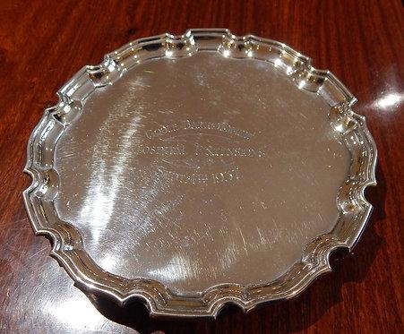 Sterling Silver 1930's Salver(DKS/624)