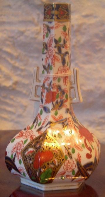 A Royal Derby Imari Vase (DKS/179)