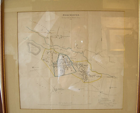 A Map of the Town of Dorchester (DKS/404)
