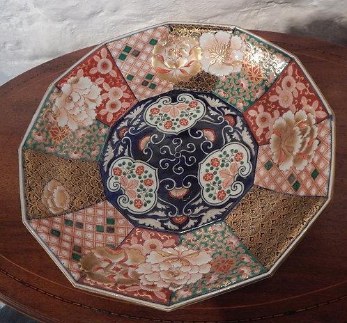 A Stunning Japanese Imari Dish (DKS/498)