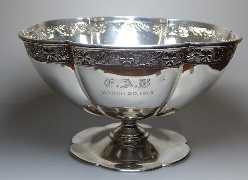 Edwardian Silver Pedestal Bowl (DKS/598)