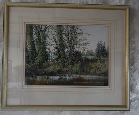 "An Original Watercolour ""Reflections"" (DKS/444)"