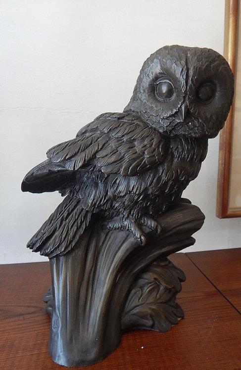 A Beautiful Cold Cast Bronze Owl (COM/349)