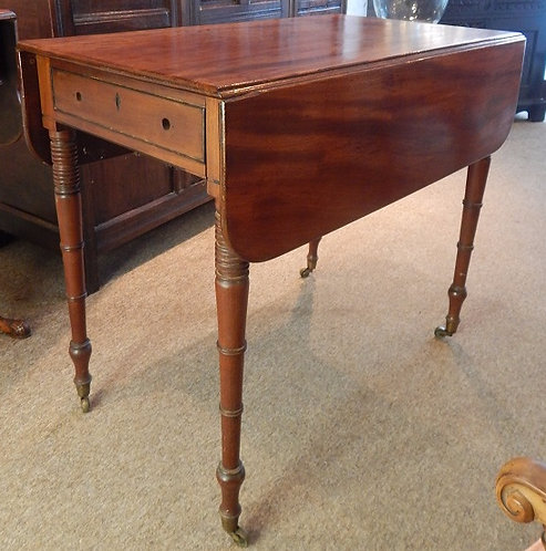 19th Century Mahogany Pembroke Table(CB/112)