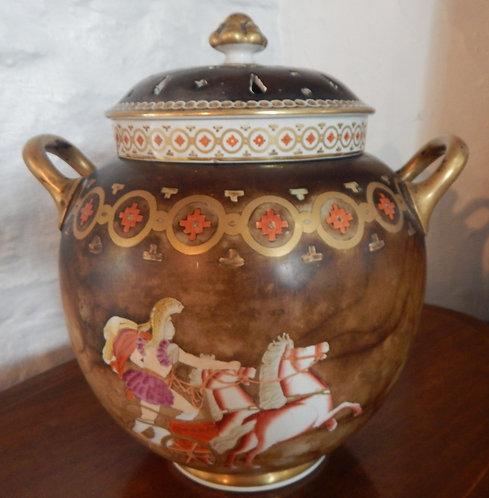 A Stunning 19th Century Potpourri  Vase (DKS/450)