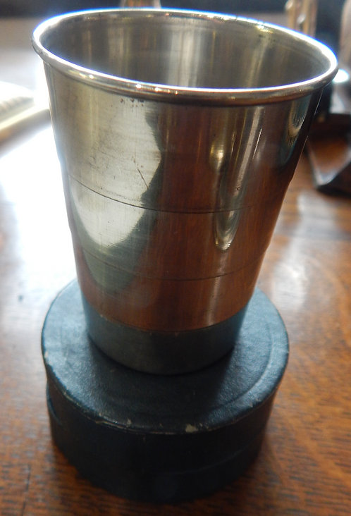 Vintage Silver Plated Stirrup Cup (CB/405)