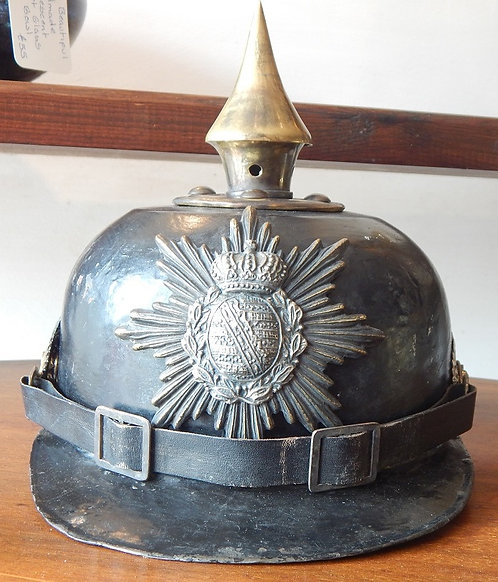 First World War Saxon Picklehaube Helmet(EBA/575)