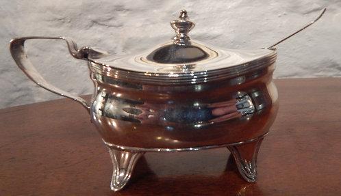 A Lovely Silver Mustard Pot (CB/414)