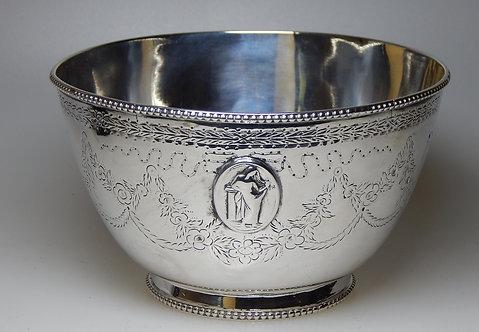 Stunning Victorian Silver Sugar Bowl.