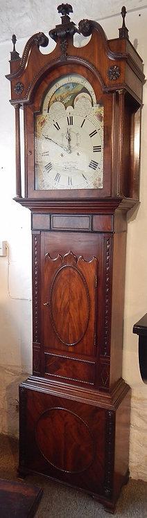 A Welsh Moon Roller Long Case Clock(C0M/372)