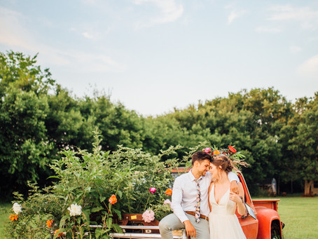 Sunset Queen // Styled Shoot